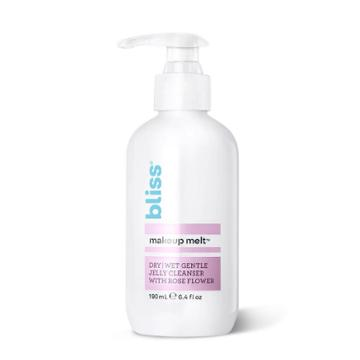 Bliss Makeup Melt Cleanser - Dry/wet Gentle Jelly Cleanser