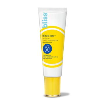 Bliss Block Start Invisible Daily Sunscreen