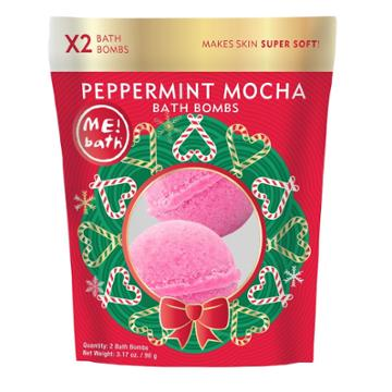 Me! Bath Tini Peppermint Mocha Bath And Body Gift