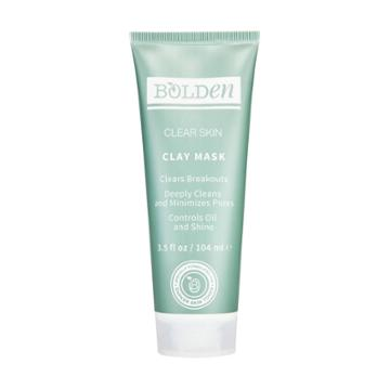 Bolden Clean Skin Clay Face Mask - 3.5 Fl Oz, Adult Unisex