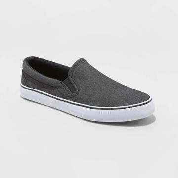 Men's Phillip Twin Gore Sneakers - Goodfellow & Co Charcoal