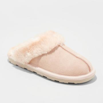 Gilligan & O'malley Women's Chandra Scuff Slipper Blush