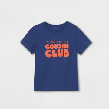 Toddler 'cousin Crew' Short Sleeve Graphic T-shirt - Cat & Jack Purple