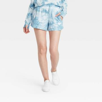 Women's Mid-rise French Terry Shorts 3.5 - All In Motion Air Blue