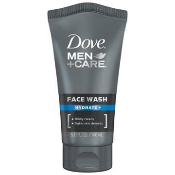 Dove Men+care Hydrate + Facial Cleanser Moisturizing Face Wash