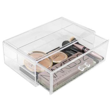 Sorbus Stackable Makeup Storage Set - 1 Drawer, Adult Unisex