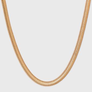 Foxtail Chain Necklace - Universal Thread Worn Gold