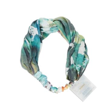 Scunci Collection Headwrap Color Print - Blue Water