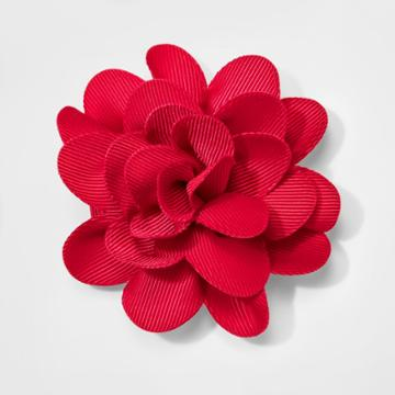 Girls' Rose Salon Clip - Cat & Jack Red