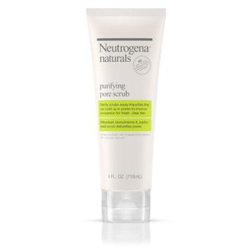 Neutrogena Natural Purifying Pore Scrub Facial Cleanser