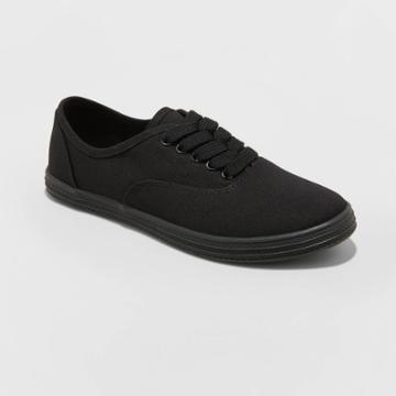 Women's Lunea-wo's Vulcanized Canvas Sneakers - Universal Thread Black