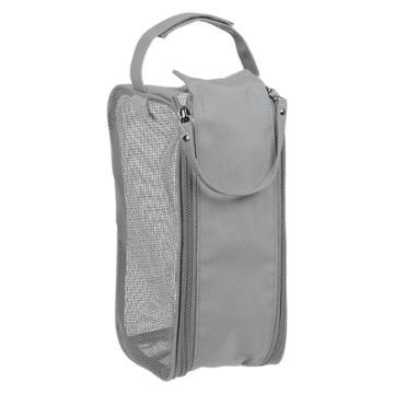 Hanging Shower Dopp Kit Gray - Bath Bliss