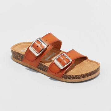 Girls' Mad Love Scarlett Footbed Sandals - Cognac