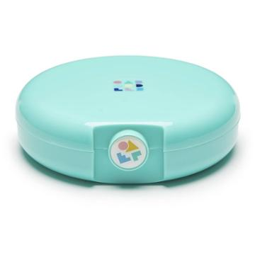 Caboodles Cosmic Compact Case - Light Teal, Adult Unisex