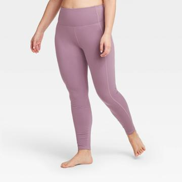 Women's Contour Power Waist High-rise Leggings 27 - All In Motion Purple