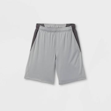 Boys' Training Shorts - All In Motion Gray