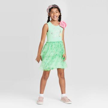 Nickelodeon Girls' Jojo St. Patrick's Day Dress - Green