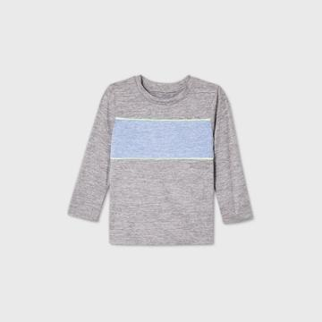 Toddler Boys' Active Long Sleeve T-shirt - Cat & Jack Gray