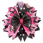 Lily Frilly Hair Clips And Pins - Black