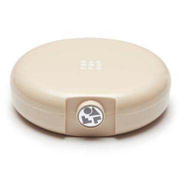 Caboodles Cosmic Compact Case - Light Beige, Adult Unisex