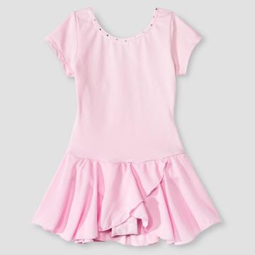 Danshuz Girls' Leotard - Pink 2-4,