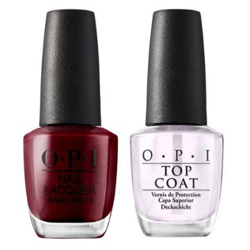 Opi Nail Laquer Got The Blues For Red/top Coat - 2pk, Adult Unisex