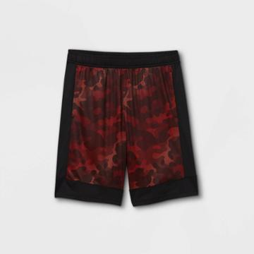 Boys' Basketball Shorts - All In Motion Bright Red