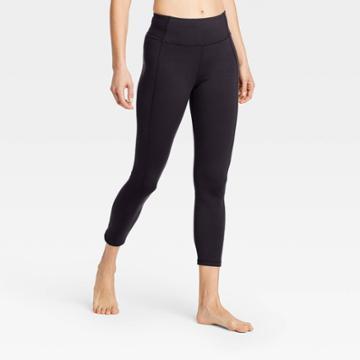 Women's Simplicity Mid-rise 7/8 Leggings 24 - All In Motion Black