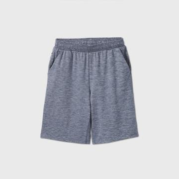 Boys' Soft Gym Shorts - All In Motion Navy
