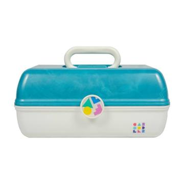 Caboodles Makeup Case Marble Over White