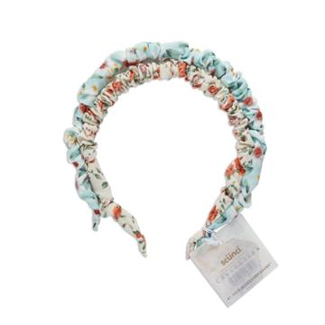 Scunci Collection Skinny Ruched Headband - Ditzy Print