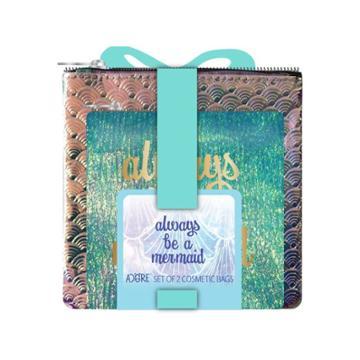 Adore Always Be A Mermaid Bag Set - 2pc,