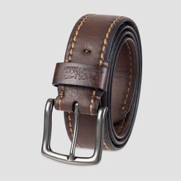 Denizen From Levi's Men's Cut Edge Casual Belt - Brown