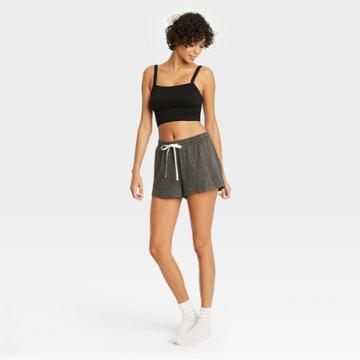 Women's French Terry Lounge Shorts - Colsie Gray