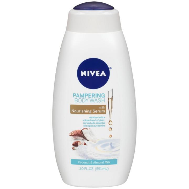 Nivea Pampering Body Wash Coconut & Almond Milk