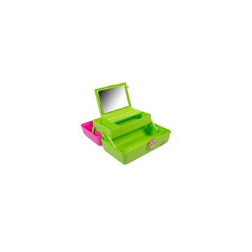 Caboodles On The Go Girl Makeup Bag - Citron And Pink