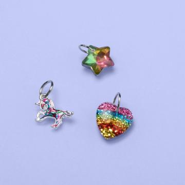 More Than Magic Girls' 3pk Assorted Charm Set - More Than