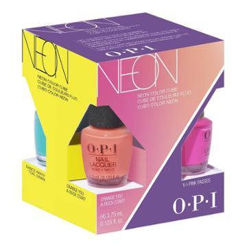 Opi Nail Polsih Mini Neon - 4pk/0.125 Fl Oz, Adult Unisex