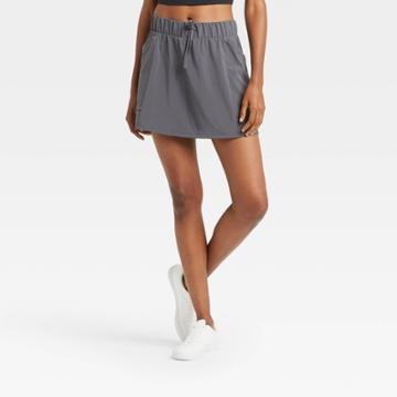Women's Move Stretch Woven Skorts 16 - All In Motion Dark Gray