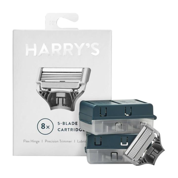 Harry's Harrys Razor Blades For Men  8 Pack Of Razor Blade Refills