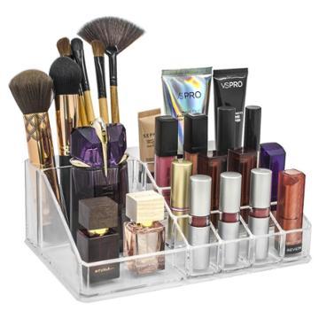 Sorbus Stackable Makeup Storage Display Top -