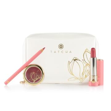 Tatcha Magnolia Bloom Lip Trio