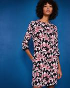 Ted Baker Crane Print Shift Dress
