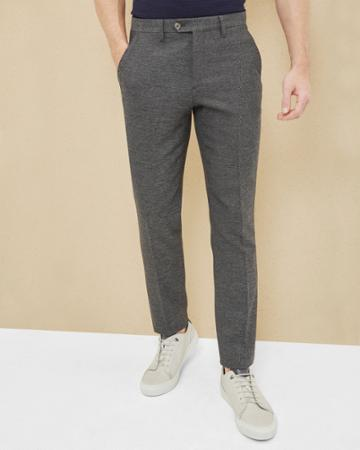 Ted Baker Semi Plain Wool-blend Pants