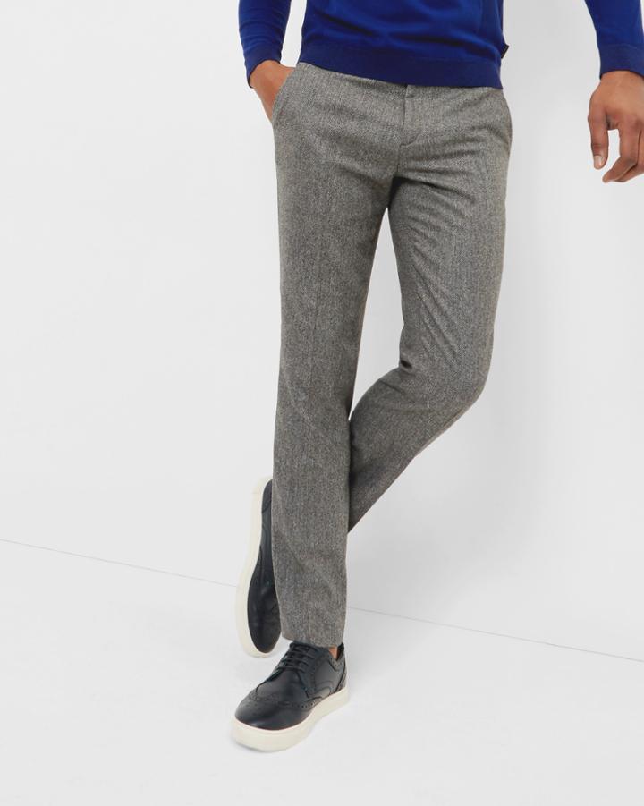 Ted Baker Herringbone Wool Pants