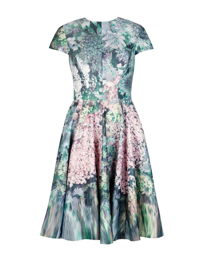 Ted Baker Glitch Floral Printed Dress