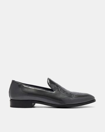 Ted Baker Patent Leather Slippers