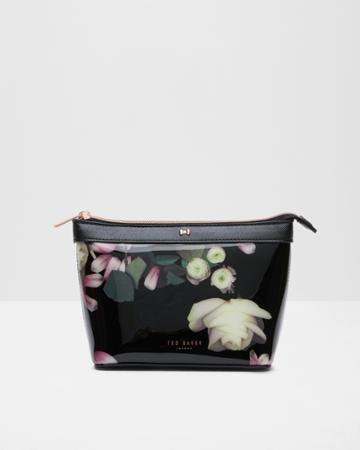 Ted Baker Kensington Floral Patent Cosmetic Bag