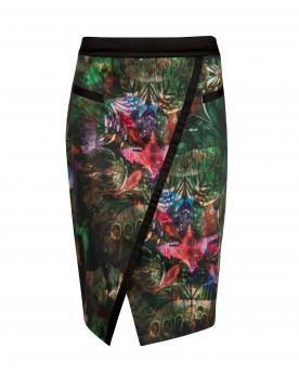 Ted Baker Lawrus - Bejewelled Wing Skirt
