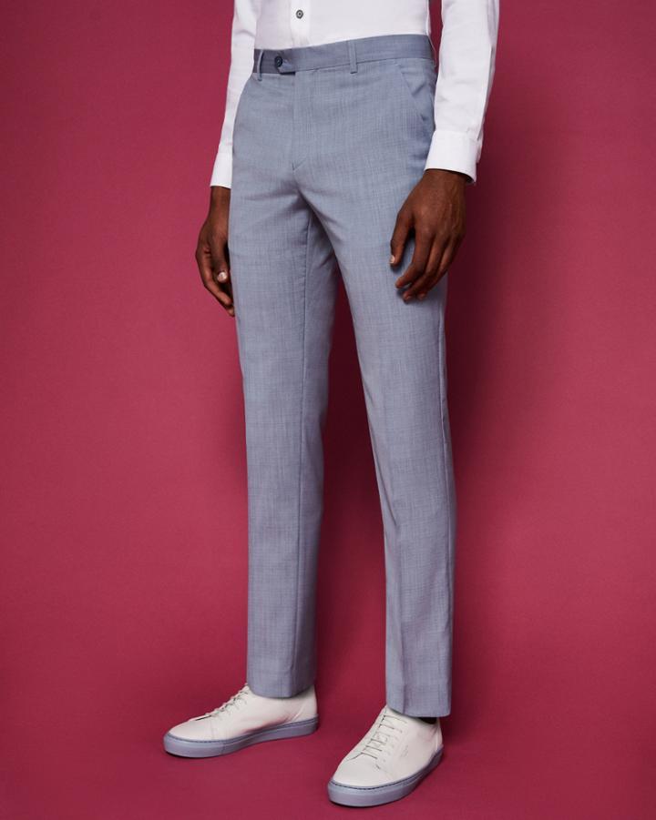 Ted Baker Slim Fit Wool Suit Pants